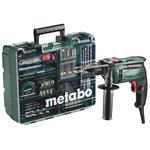 Metabo Elektronik-Schlagbohrmaschine SBE 650 Set