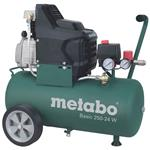 Metabo Kompressor Basic 250-24 W 8bar, 1,5kW, 24L, 2850/min-1, fahrbar