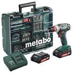 Metabo Akku-Bohrschrauber BS 18 Quick Set 18V