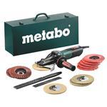 Metabo Elektronik-Flachkopf-Winkelschleifer WEVF 10-125 Quick Inox 1000W 125mm