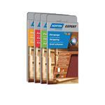 Norton Expert Nachfüllpackung 70x125 mm Holz K180 5er VE für Schleifblock m.Klett