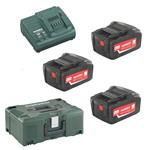 Metabo Akku Basic-Set Pick & Mix 6.85062.00