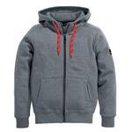 FHB Sweater-Jacke BENNO Sweater-Jacke mit Kapuze 794/94