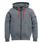 FHB Sweater-Jacke Benno mit Kapuze 79494