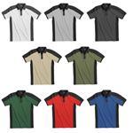 FHB Poloshirt KONRAD 91490 Arbeitsshirt Polo-Shirt zweifarbig