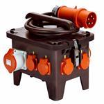 as - Schwabe Baustellen-Stromverteiler M3 400 V