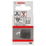 """Bosch Schnellspannbohrfutter 10 mm, 1 bis 10 mm, 3/8"""" bis 24,2608572068"""