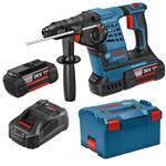 Bosch Akku-Bohrhammer GBH 36 V-LI Plus inkl. 2 Akkus 6,0 Ah, Ladegerät, L-Boxx