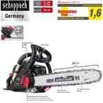 Scheppach Benzin-Kettensäge CSP41 /2PS/ 40cm