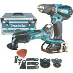 Makita Akku-Set 18 V DLX2031YX1 DDF456RHE +DTM50Z