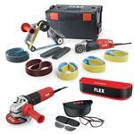 Flex BRE 14-3 125 Set Rohrbandschleifer + extras