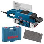 Bosch Bandschleifer GBS 75 AE inkl. Koffer und Schleifband, 750 Watt / 75x533