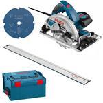 Bosch Handkreissäge GKS 65 GCE inkl. L-Boxx + FSN