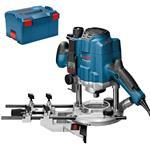 Bosch Oberfräse GOF 1250 LCE Professional inkl. L-Boxx / digitaler Tiefenanzeige