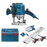 Bosch Oberfräse GOF 1250 LCE inkl. L-Boxx/OFA Kit