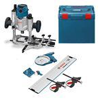 Bosch Oberfräse GOF 1600 CE L-Boxx+ FSN OFA 32 Kit