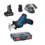Bosch Akku-Säbelsäge GSA 10,8 V-LI 2x2,5AH/1x4,0AH
