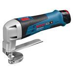 Bosch Akku-Blechschere GSC 10,8 V-LI 2x2,0 AH Akku