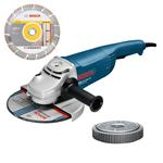 Bosch Winkelschleifer GWS 22-230 JH Professional inkl. SDS-Clic + Trennscheibe