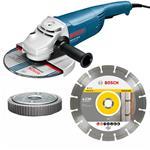 Bosch Winkelschleifer GWS 22-230 JH +Clic/Scheibe