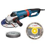 Bosch Winkelschleifer GWS 26-230 LVI + SDS-Clic Mutter + Best for Univeral 230mm