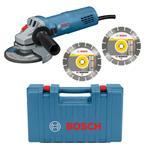 Bosch Winkelschleifer GWS 880 + Koffer + 2 Dia-TS
