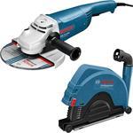 Bosch GWS 22-230 JH Professional + GDE 230 FC-S