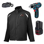 Bosch Heat+Jacket Workwear 10,8 V GR M + GSR