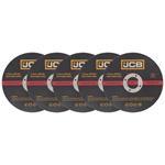 JCB Metall Trennscheiben 115 x 2,5 x 22,23 mm gerade 5 Stück