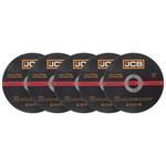 JCB Metall Trennscheiben 125 x 2,5 x 22,23 mm gerade 5 Stück