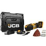 JCB Akku Multifunktionswerkzeug 18V inkl. 1x 2,0 Ah Akku Ladegerät und L-BOXX