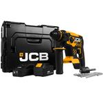 JCB 18V Akku Bohrhammer BL 18BLRH-5X-E 1x 5,0 Ah 1x 3,0 Ah Akku + Lader + L-Boxx