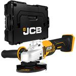 JCB Akku Winkelschleifer 115 mm 18V Solo inkl. L-BOXX ohne Akku und Ladegerät