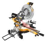 JCB Kapp- und Gehrungssäge MS254SB Zugsäge mit Laser 254mm Sägeblatt 2000W