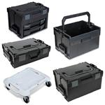 Sortimo Systemkoffer Set L-Boxx 102 + 136 + LS-BOXX 306 + Roller + LS-Tray + i-Boxx