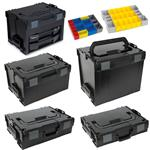 Sortimo Systemkoffer Set L-Boxx 102 + 136 238 + 374 + LS-BOXX 306 + LS-Tray + i-Boxx