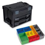 Sortimo Systemkoffer LS-Boxx 306 schwarz mit i-Boxx 72 + LS-Tray + Insetboxenset H3