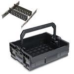 Sortimo Werkzeugkoffer Systemkoffer LT-Boxx 136 schwarz inkl. 3 Fach Trennblechset