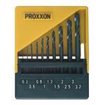 Proxxon 28874 HSS Spiralbohrersatz, DIN 338, 10-tlg. (0,3 bis 3,2 mm)