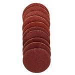 Proxxon 28983 Ersatzschleifscheiben, 18 mm für Gummiteller, je 10 Stück Korn 120 + 150