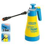 """GLORIA Drucksprühgerät Spray&Paint Compact """"Sprühen statt Pinseln"""" 1,25 L"""
