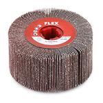 Flex Schleif-Mop P60 100Øx100 Schleifwalze für Satiniermaschinen 358835