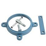 ServiceSystem Drehteller für Schraubstock 115mm für Fahrzeugeinrichtungen
