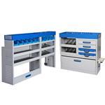 ServiceSystem Fahrzeugeinrichtung Trio-Set 1 für mittelgroße Transporter