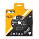JCB HM Kreissägeblatt Set 165 / 16 mm 24 & 40 Zähne für Tauch- & Handkreissägen