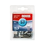 Novus Stahl-Blindnietmutter M5/ 11,5 mm, 10 Stück