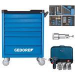 Gedore Werkzeugwagen workster + 147-tlg. Sortiment