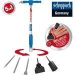 Scheppach Druckluftspaten AERO² SPADE 5In1