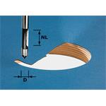 Festool Bohrfräser HW Schaft 8 mm HW S8 D8/ 491037