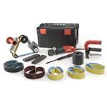 Flex BSE 14-3 Inox Set Satiniermaschine und Rohrbandschleifer TRINOXFLEX im Set